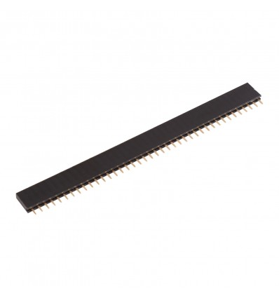 40 Pin 2.54mm Straight SIL Pin Header - Female - Cover