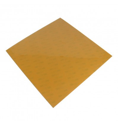 PEI (Polyetherimide) Sheet 310x310mm x 1mm Thick - With 3M Tape - Cover