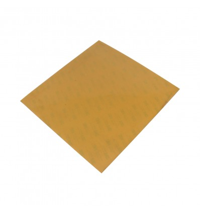 PEI (Polyetherimide) Sheet 250x250mm x 1mm Thick - With 3M Tape - Cover