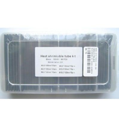 Assorted Black Heatshrink Kit