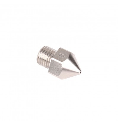 0.6mm Micro Swiss MK8 Nozzle for Creality CR-10S Pro - Plated Brass - Cover