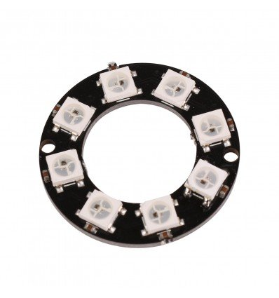 8 LED NeoPixel Ring - RGB WS2812 - Cover