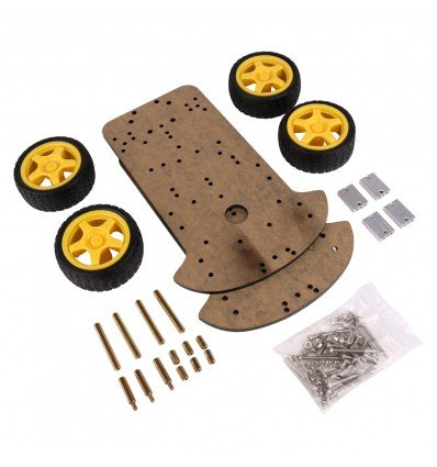 4WD Robot Car Chassis Kit - Cover