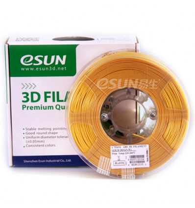 Gold ABS 1.75mm 1kg ESUN