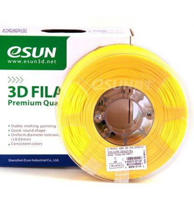 Yellow ABS 1.75mm 1kg ESUN