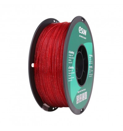 eSUN eTwinkling PLA Filament - 1.75mm Red - Cover