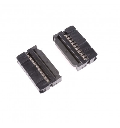 IDC Crimp Connector DIL 20-Way - Cover