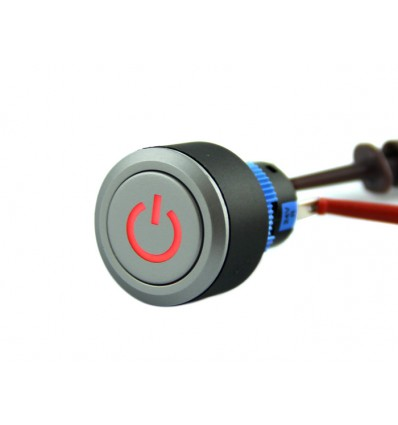 Push Latching With Power Logo