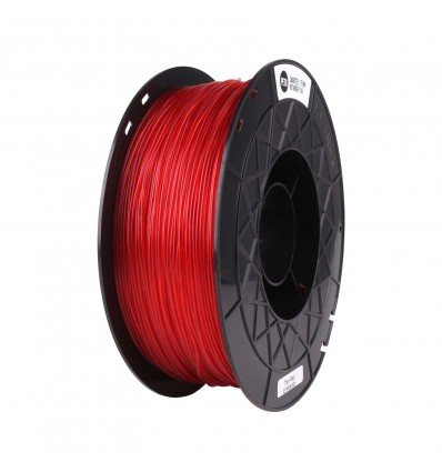 CCTREE PETG Filament - 1.75mm Transparent Red - Cover