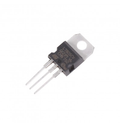L7805CV Linear Voltage Regulator - 5V Fixed Output - Cover
