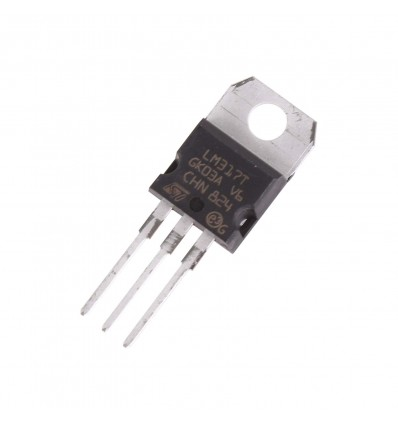 LM317T Linear Voltage Regulator - Adjustable Output - Cover