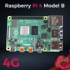 Raspberry Pi 4 Model B 4GB - Cover
