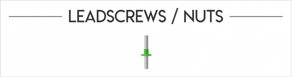 Leadscrews / Nuts